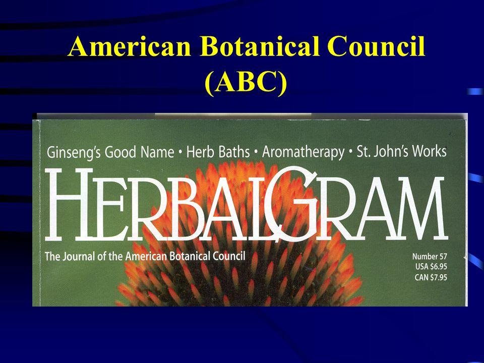 American Botanical Council (ABC)