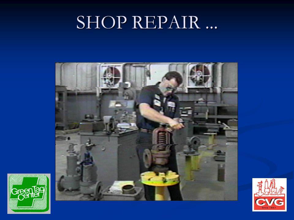 SHOP REPAIR...
