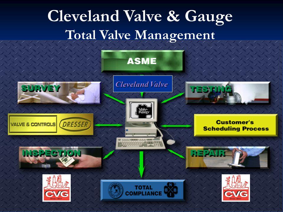 Cleveland Valve Cleveland Valve Cleveland Valve & Gauge Total Valve Management