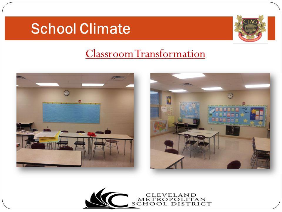 Classroom Transformation School Climate