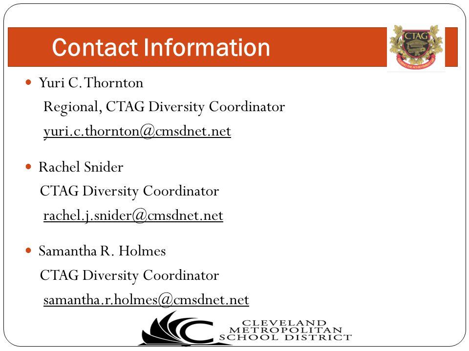 Contact Information Yuri C.