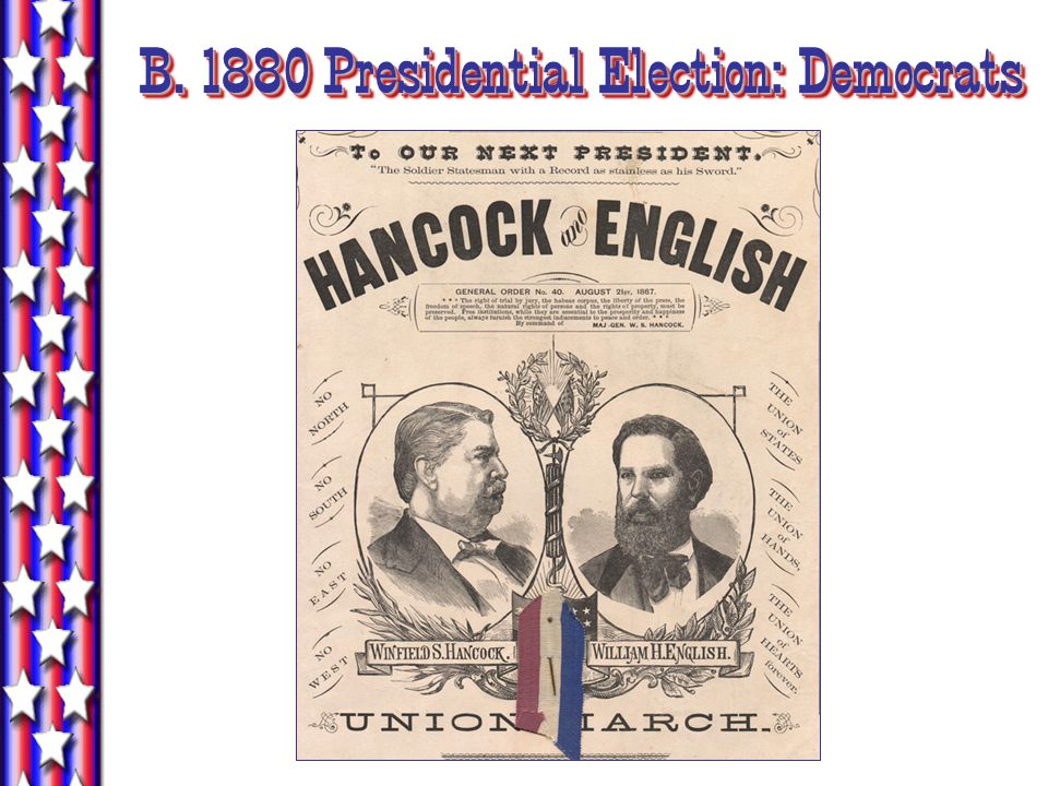B. 1880 Presidential Election: Democrats