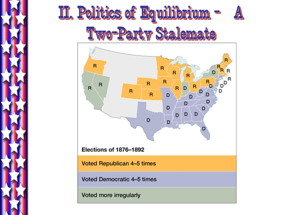 II. Politics of Equilibrium - A Two-Party Stalemate