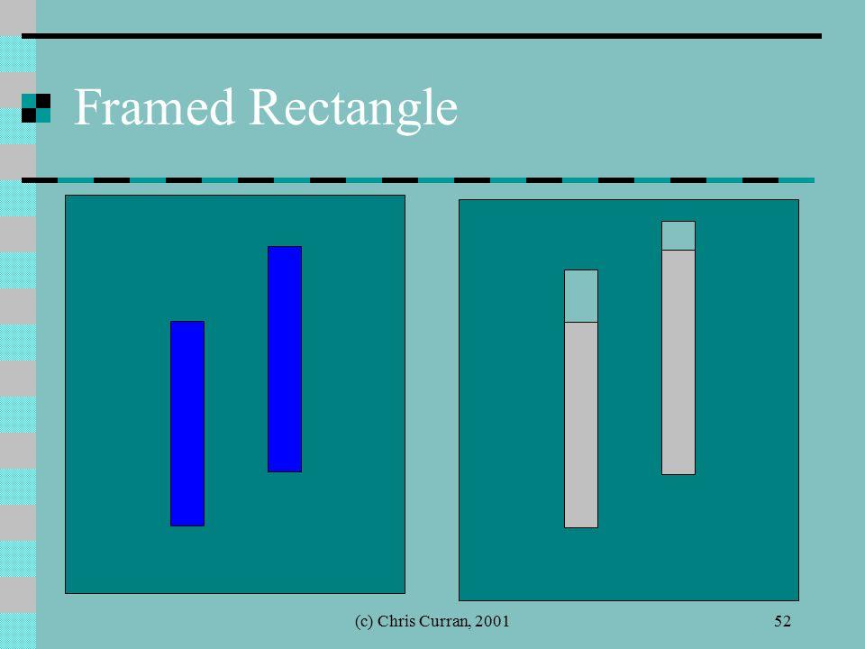(c) Chris Curran, 200152 Framed Rectangle