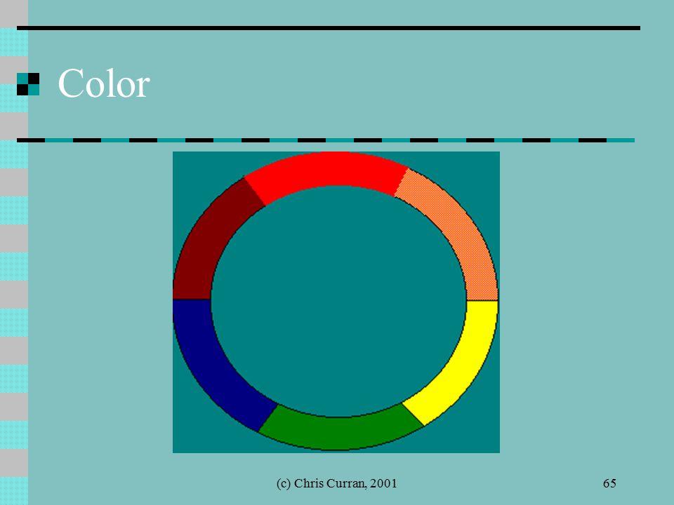 (c) Chris Curran, 200165 Color