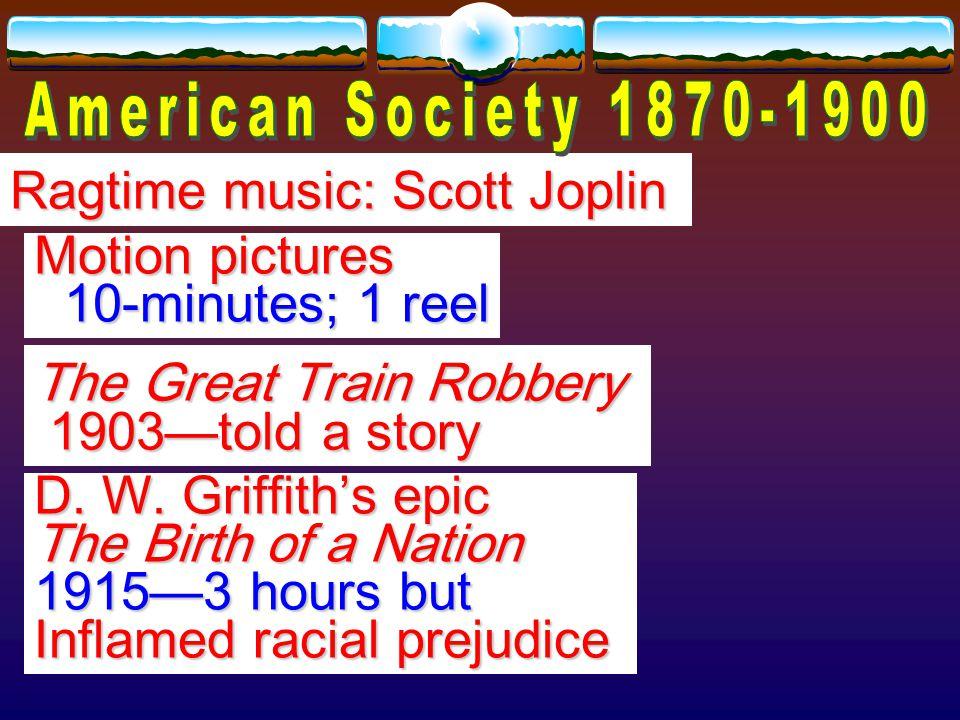 Live theater—Sarah Bernhardt, Lillie Langtry, and Jenny Lind Lillie Langtry, and Jenny Lind Vaudeville—songs, dancing, slapstick comedy, chorus lines slapstick comedy, chorus lines Circus: P.