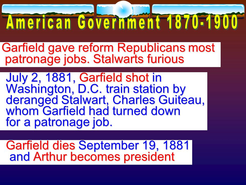 Garfield defeated Battle of Gettysburg hero Winfield S. Hancock