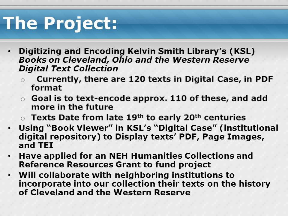 The Project: