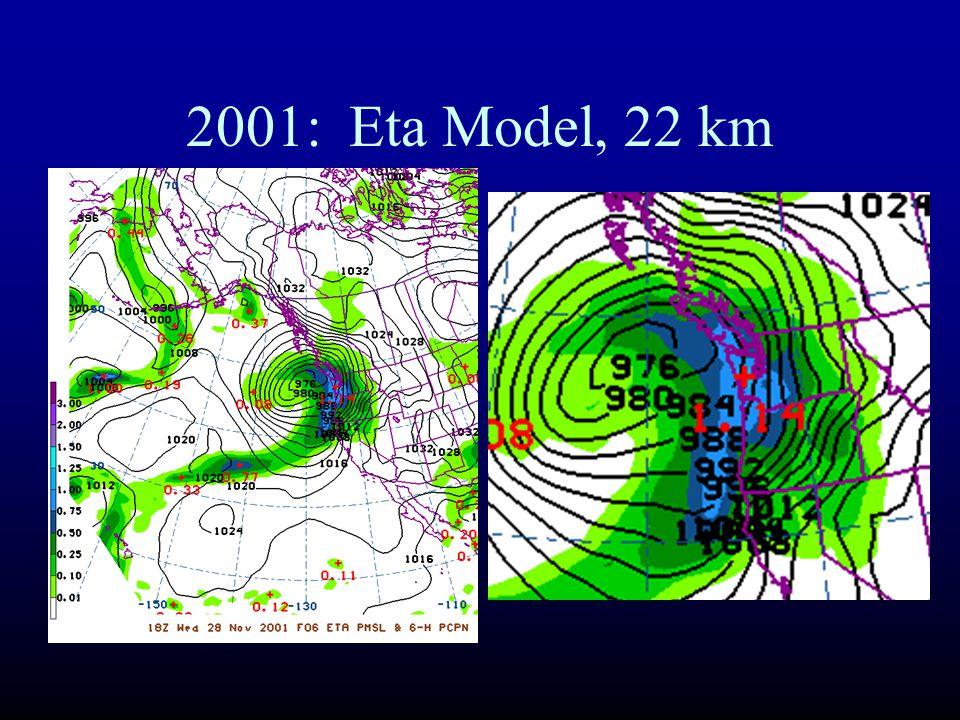 2001: Eta Model, 22 km