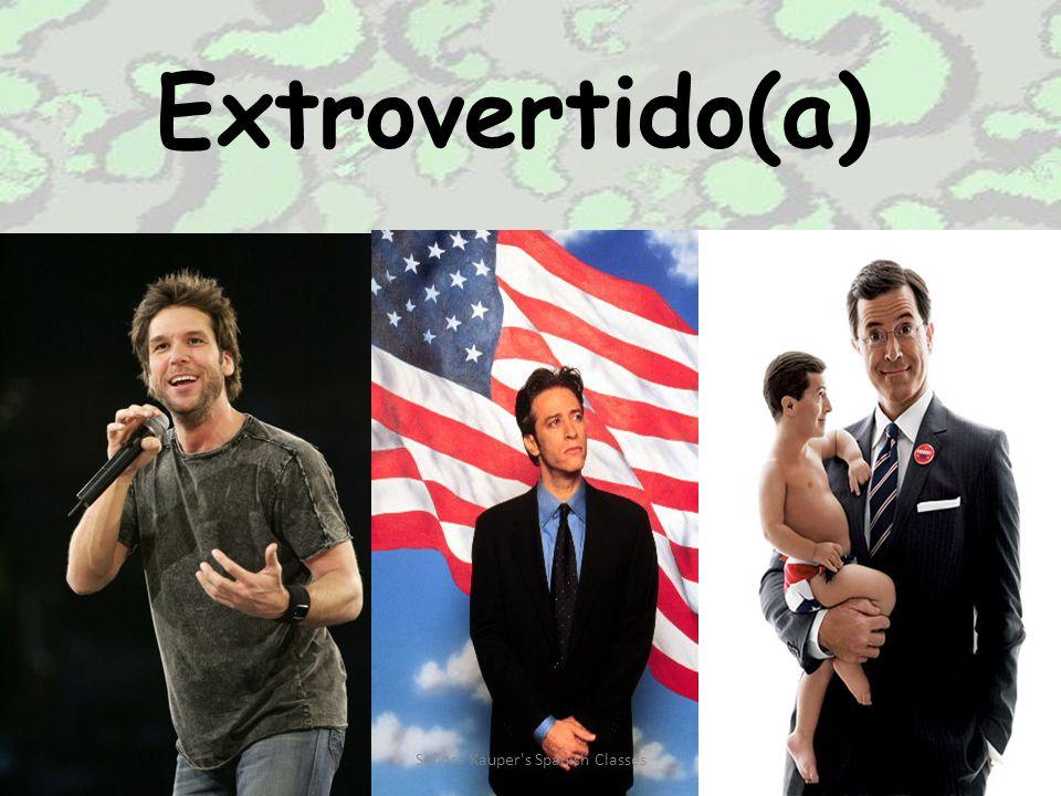 Extrovertido(a) Señora Kauper s Spanish Classes