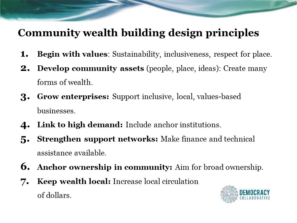 Community wealth building design principles 1.