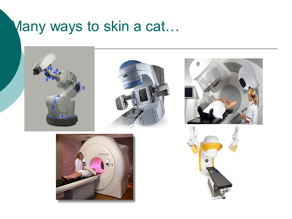 Many ways to skin a cat…