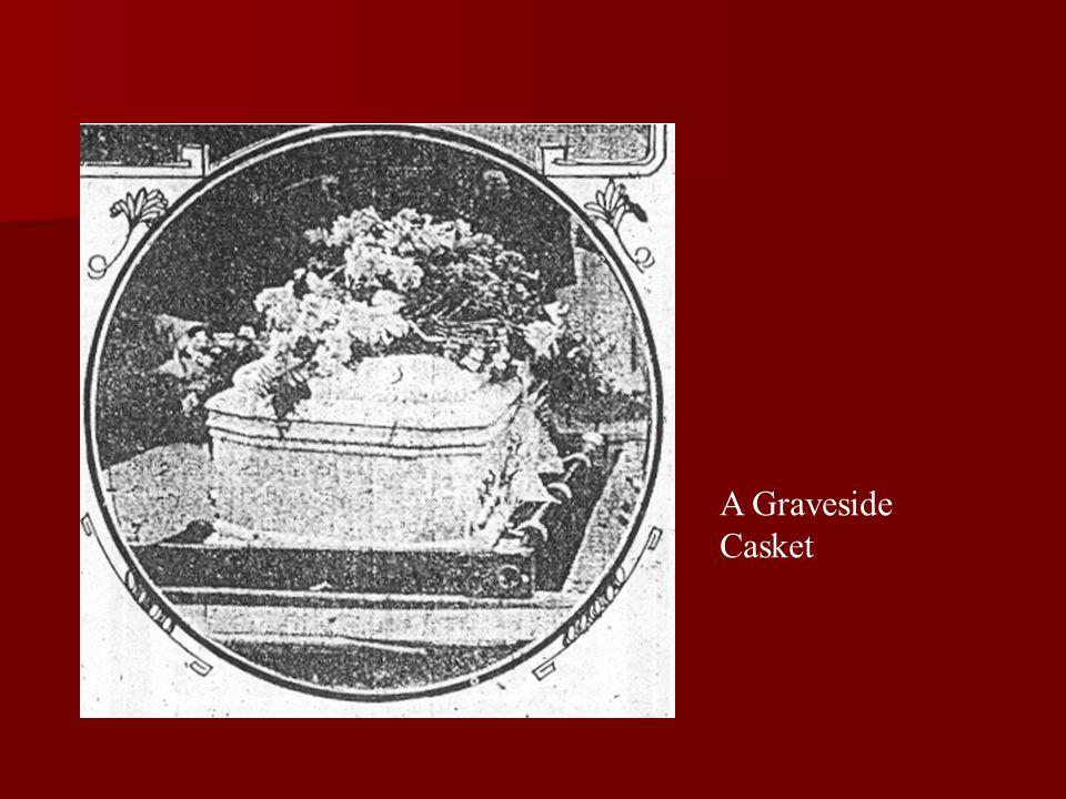 A Graveside Casket