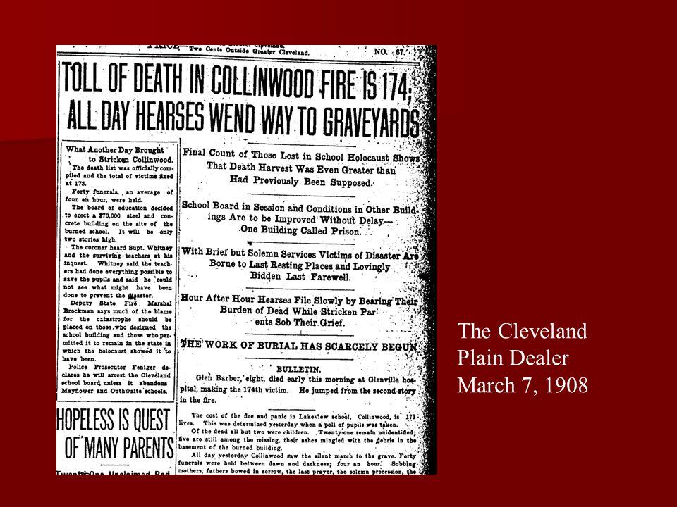 The Cleveland Plain Dealer March 7, 1908