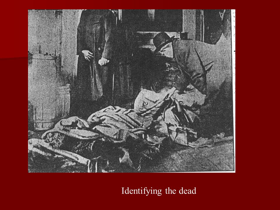 Identifying the dead