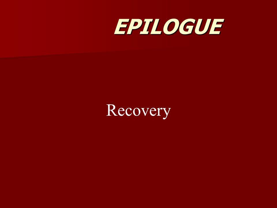 EPILOGUE Recovery