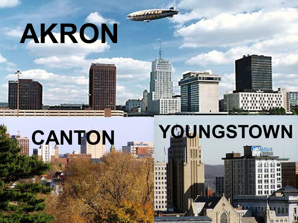 CANTON YOUNGSTOWN AKRON