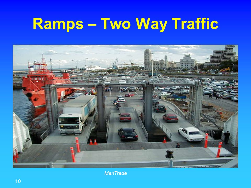 10 MariTrade Ramps – Two Way Traffic