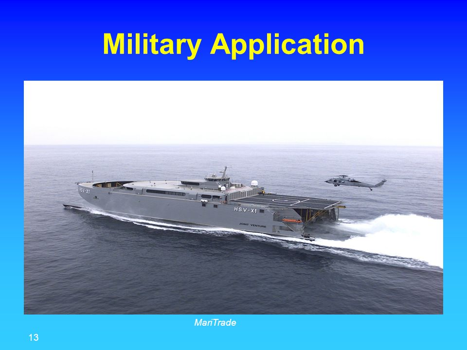 13 MariTrade Military Application