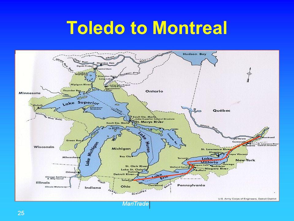 25 MariTrade Toledo to Montreal