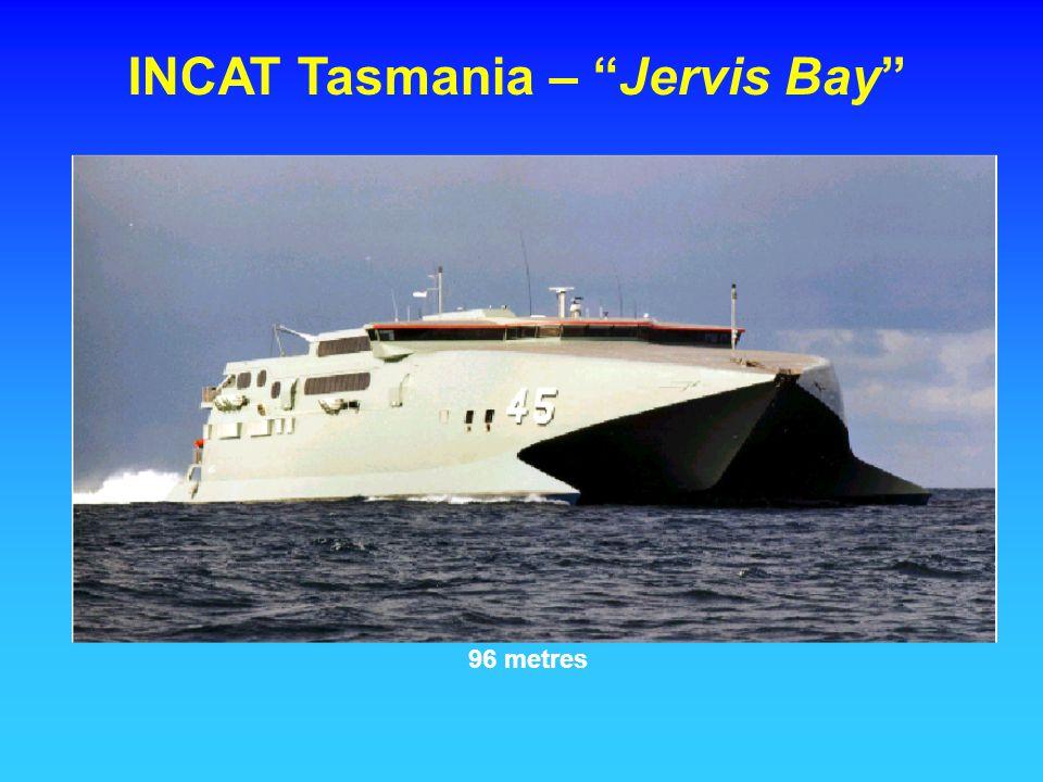 INCAT Tasmania – Jervis Bay 96 metres