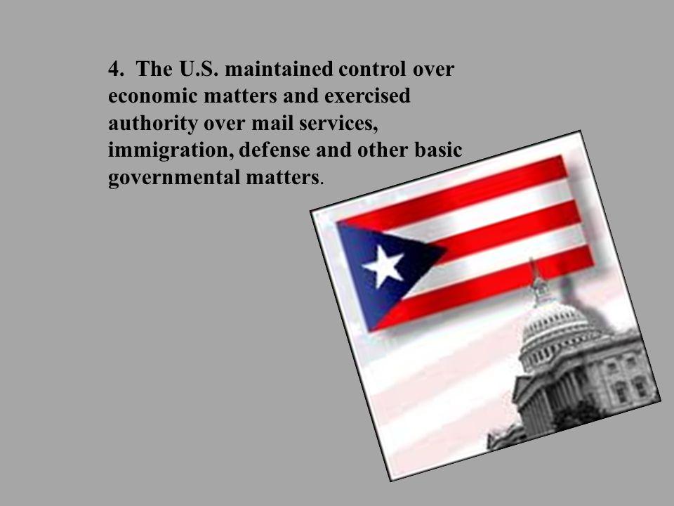 4. The U.S.
