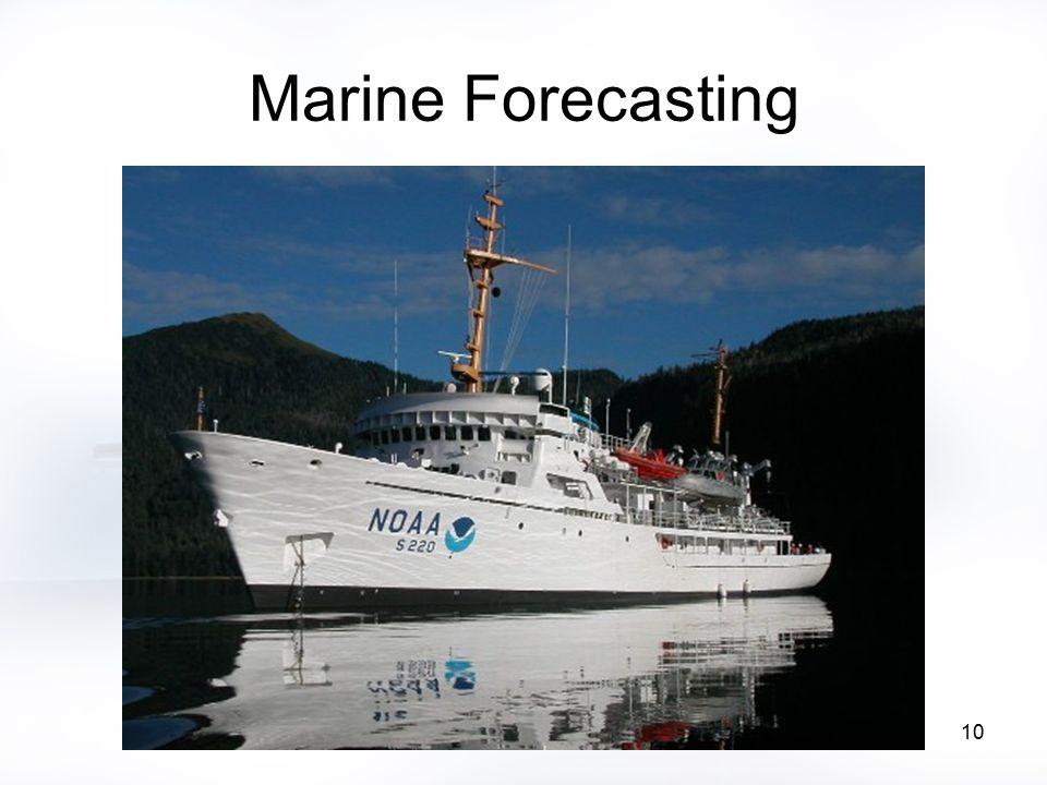 10 Marine Forecasting