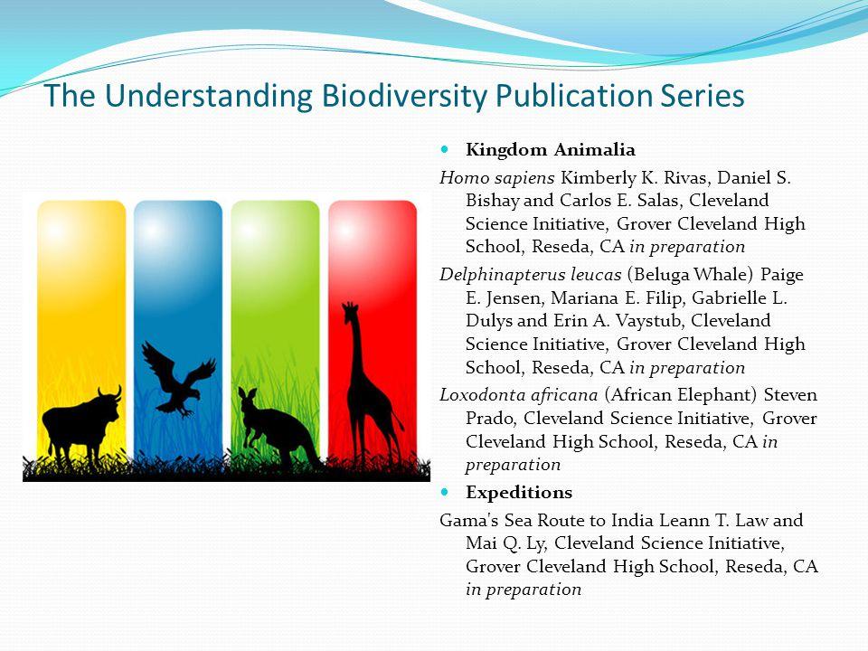 The Understanding Biodiversity Publication Series Kingdom Animalia Homo sapiens Kimberly K.