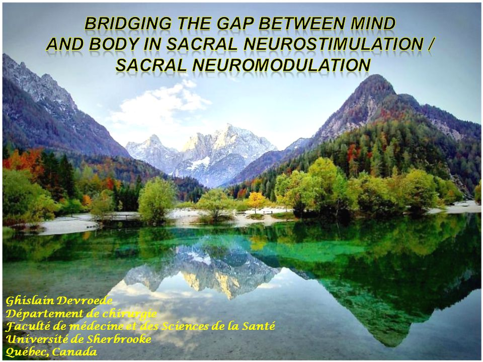 QUALITY OF LIFE IS MARKEDLY IMPROVED IN PATIENTS WITH FECAL INCONTINENCE AFTER SACRAL NERVE STIMULATION
