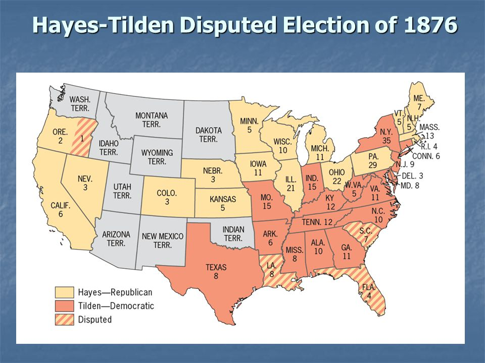 Hayes-Tilden Disputed Election of 1876