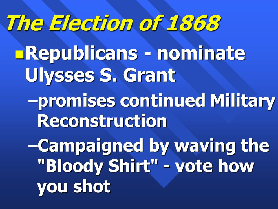 Stalwarts n Lord Roscoe Conkling n Senator from New York n Embraced spoils system –Jobs for votes