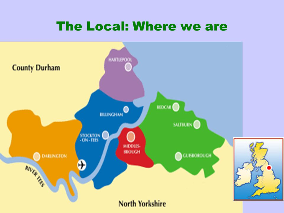 The Local: Where we are