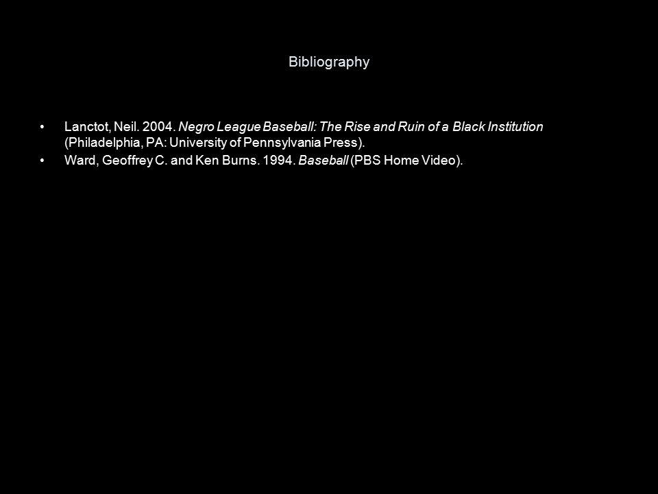Bibliography Lanctot, Neil. 2004.