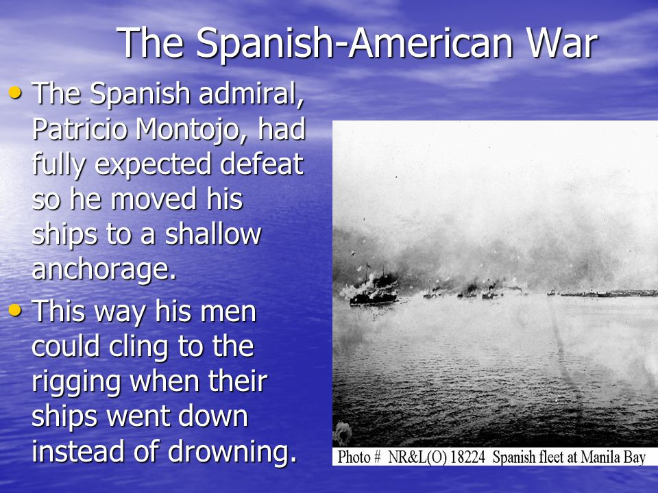 The Spanish-American War Because of his immediate fame and popularity, Dewey went from Commodore to rear admiral to Admiral of the Navy, a rank and honor revived by Congress and abolished after his death.