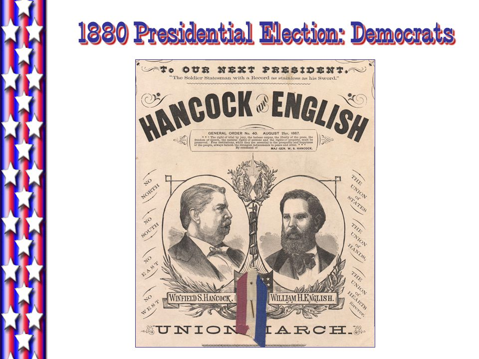 1880 Presidential Election: Democrats