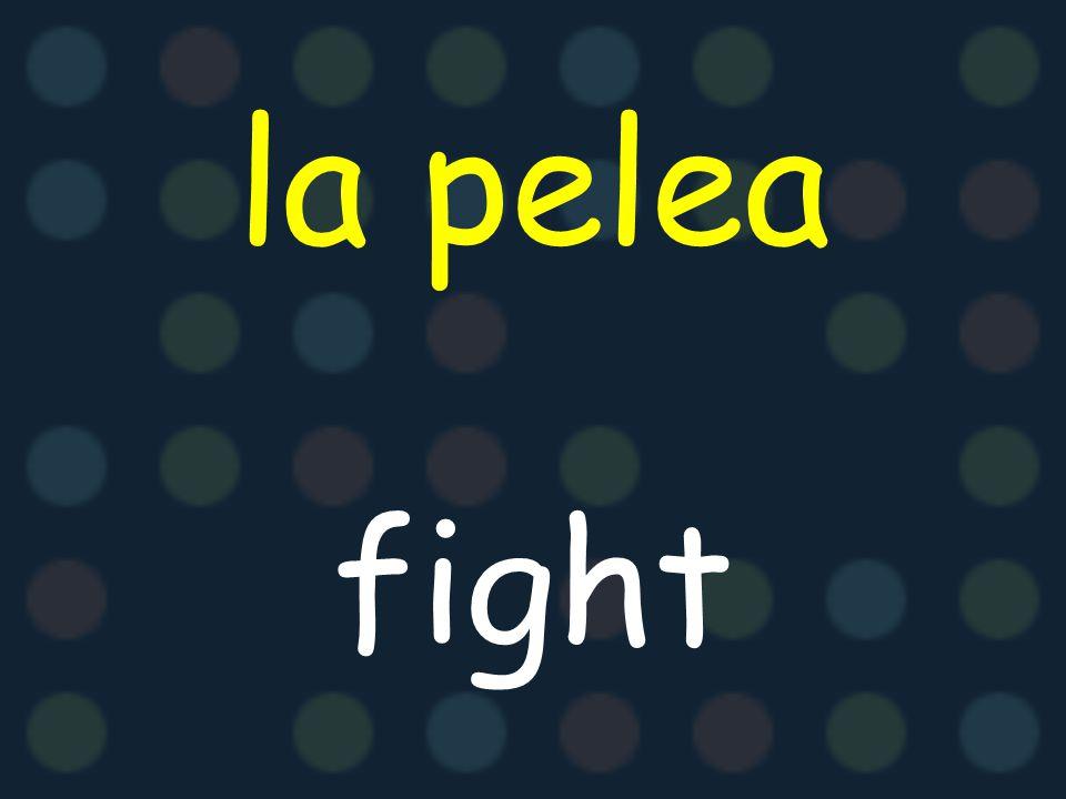la pelea fight