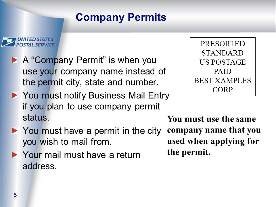 26 Return Address Required Ancillary Service Endorsements.
