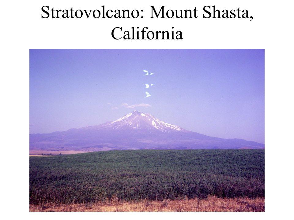 Stratovolcano: Mount Shasta, California
