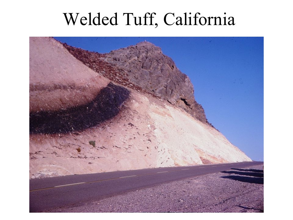 Welded Tuff, California