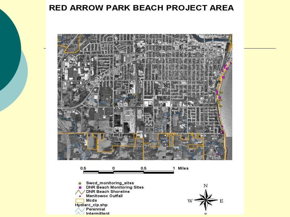 YMCA Beach  Health Department Samples  Spacial Survey E coli  City Gull Harrassment Process