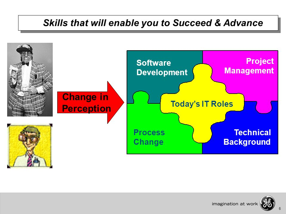 6 Skills that will enable you to Succeed & Advance Today's IT Roles Software Development Process Change Project Management Technical Background Change