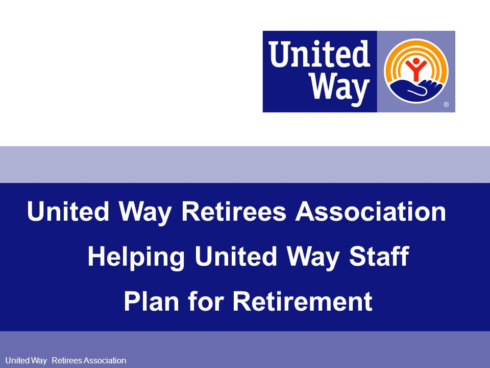 52 UWRA 52 Retirement Planning Resources (cont.) UWRA Website: www.UWRA.org –List of helpful resources including Retirement Calculators –Links to Social Security information: http://www.ssa.gov.