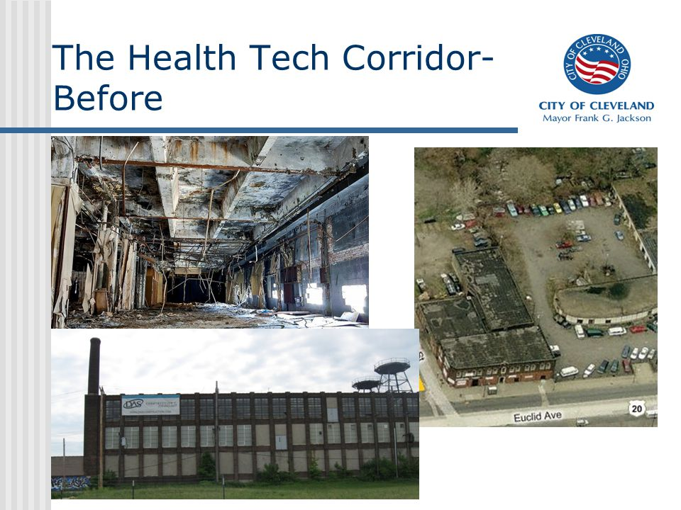 The Health Tech Corridor- Before
