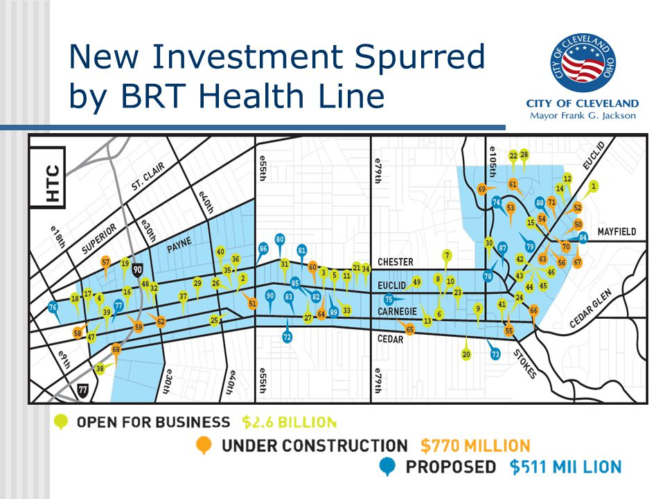 New Investment Spurred by BRT Health Line