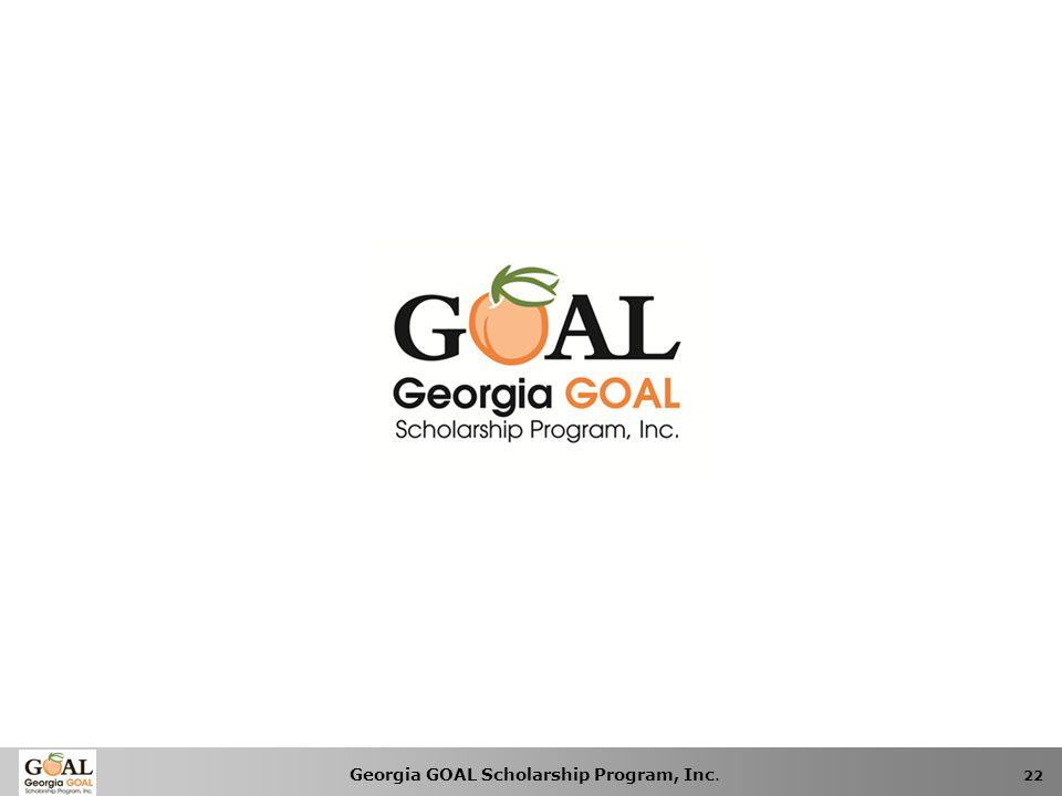 Georgia GOAL Scholarship Program, Inc. 22