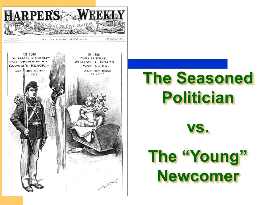 The Seasoned Politician vs. The Young Newcomer The Seasoned Politician vs. The Young Newcomer
