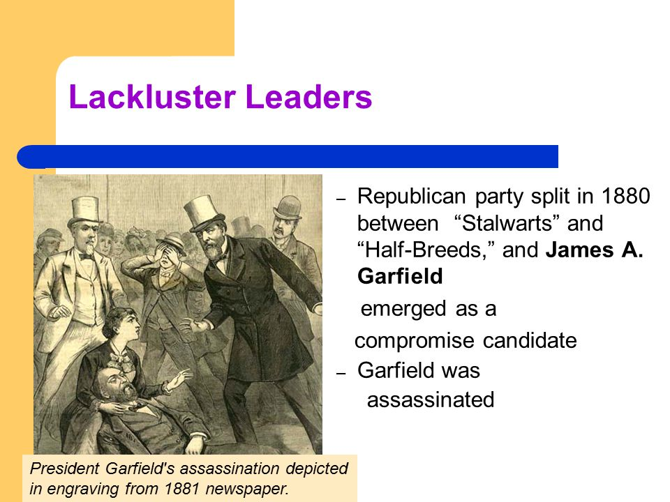 Lackluster Leaders – during Harrison's term, Congress raised the tariff to an all-time high, passed the Sherman Antitrust Act and the Silver Purchase Act, and enacted a force bill to protect the voting rights of southern blacks – Cleveland reclaimed the presidency from Harrison in 1892 (22 nd and 24 th President) – by the standards of the late nineteenth century, Cleveland's margin of victory was substantial