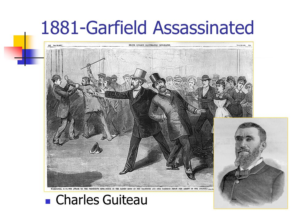 1881-Garfield Assassinated Charles Guiteau
