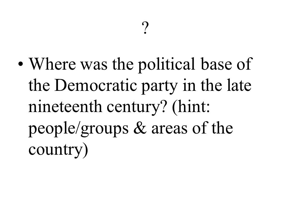 ? What was the lifeblood of both the Democratic and the Republican parties during the Gilded Age?