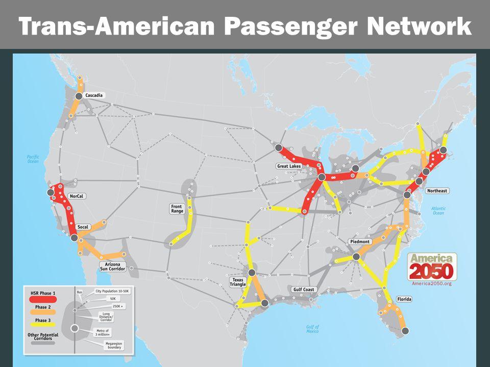 20 Trans-American Passenger Network